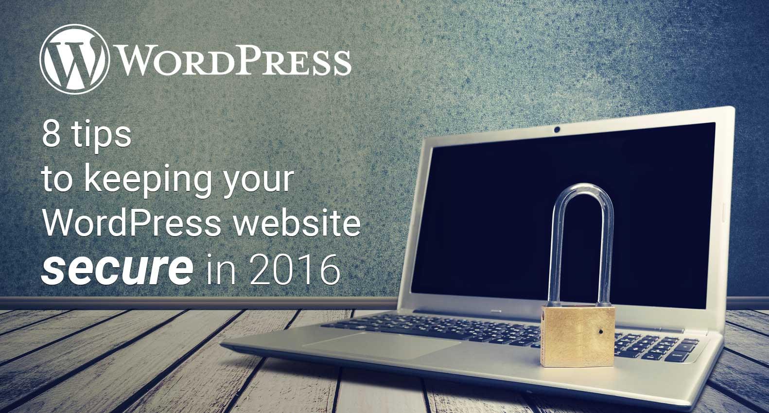 Wordpress Secuirty Tips