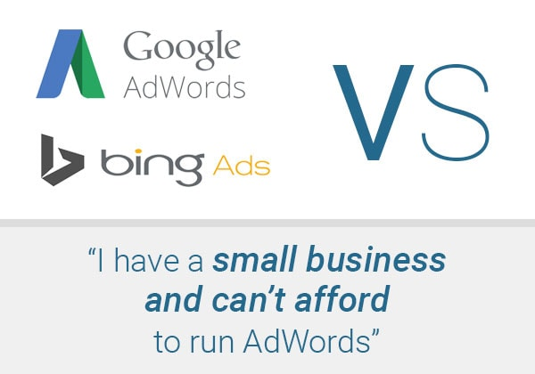 """""""I Have a Small Business & Can't Afford to Run AdWords"""""""